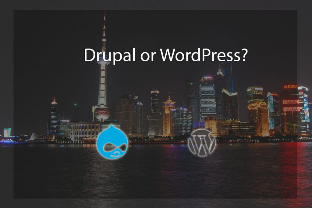 drupal or wordpress