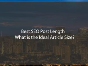 best seo post length
