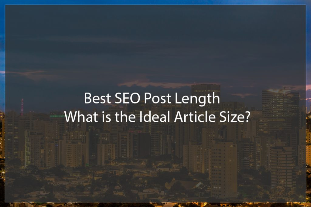 best seo post length