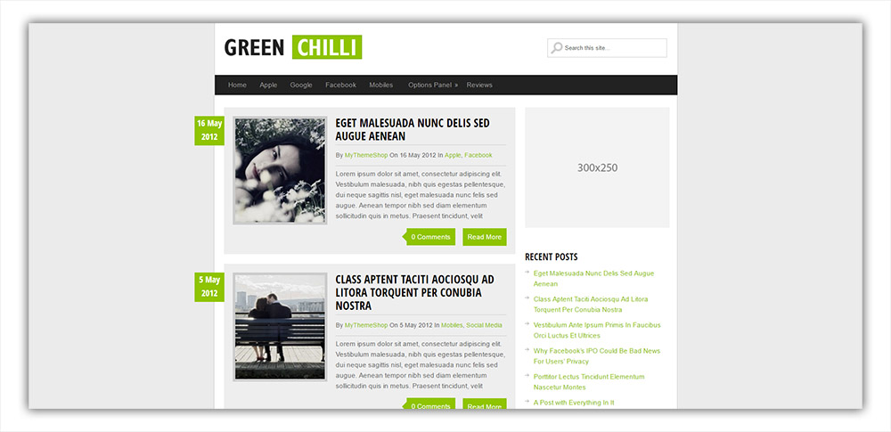 greenchilli-wordpress-theme