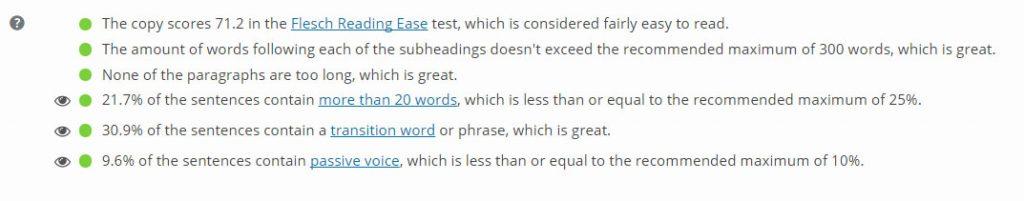 yoast-readability-score